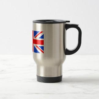 British Flag Stainless Steel Travel Mug