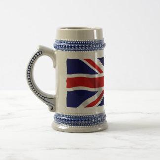 British Flag Stein