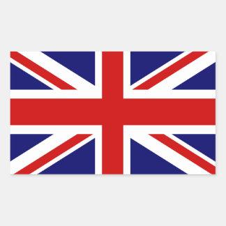 British flag stickers   Union jack design