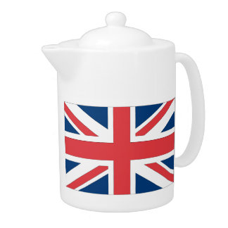 British Flag Tea Pot