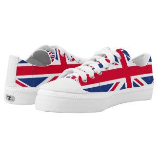 British Flag tennis shoes Printed Shoes