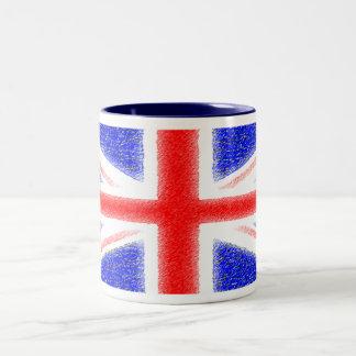 British Flag Two-Tone Mug