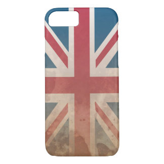 British Flag, (UK, Great Britain or England) iPhone 7 Case