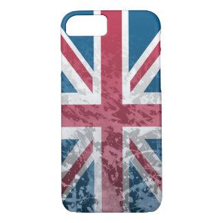 British Flag, (UK, Great Britain or England) iPhone 7 Case