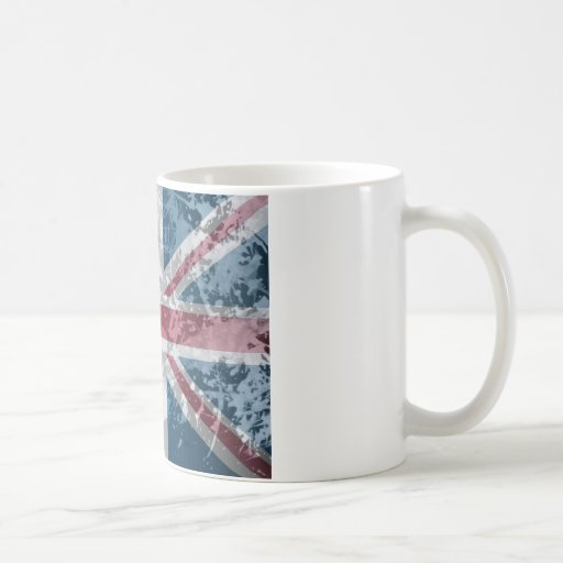 British Flag, (UK, Great Britain or England) Coffee Mugs