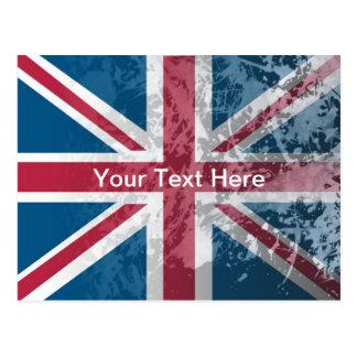 British Flag, (UK, Great Britain or England) Postcard