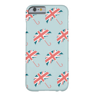 British Flag Umbrella Pattern Barely There iPhone 6 Case