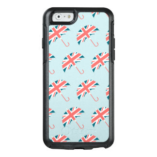 British Flag Umbrella Pattern OtterBox iPhone 6/6s Case