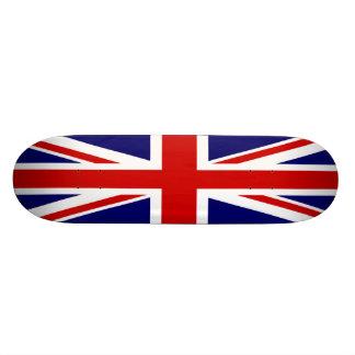 British flag  Union Jack 21.6 Cm Skateboard Deck