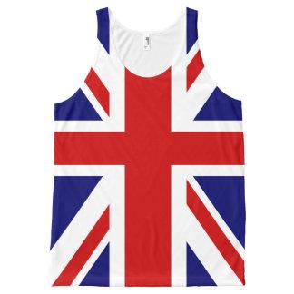 British flag Union Jack All-Over Print Singlet