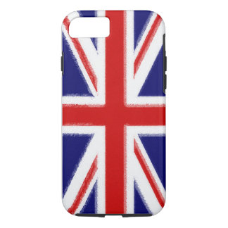 British Flag Union Jack Design Sleeve iPhone 7 Case