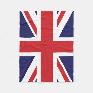 British flag Union Jack Fleece Blanket
