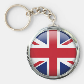 British Flag Union Jack Keychain