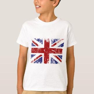 British Flag Union Jack Punk Grunge T-Shirt