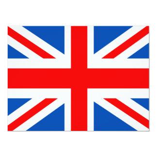 British flag, various gifts card