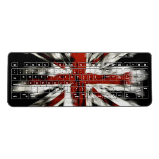 British Flag Wireless Keyboard