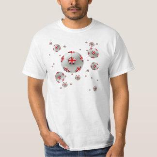 British football balls 2014 / 2015 Design Artwork T-Shirt