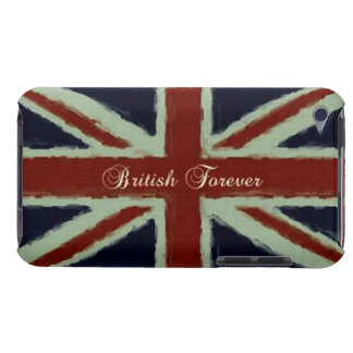 British Forever!-British Flag/Grunge Barely There iPod Cases