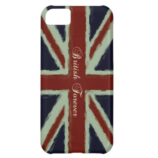British Forever-Union Jack/Painterly Version iPhone 5C Case
