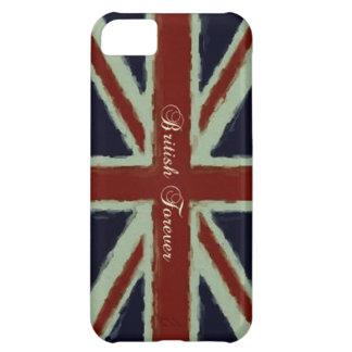 British Forever-Union Jack/Painterly Version iPhone 5C Case