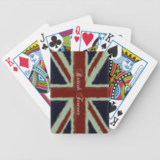 British Forever-Union Jack/Painterly Version Poker Deck