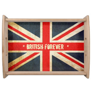 BRITISH Forever Union Jack Serving Tray