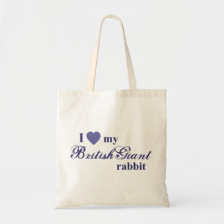 British Giant rabbit Bags
