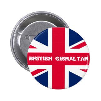 British Gibraltar Union Jack Button