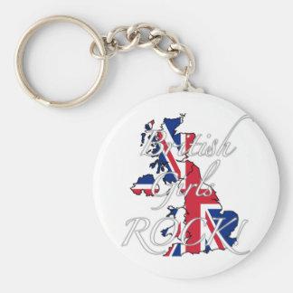 British Girls Rock! Keychain