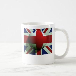 British Globe Flag Basic White Mug