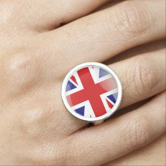 British glossy flag