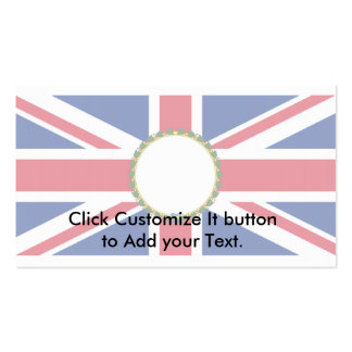 British Governor (Modern), United Kingdom flag Business Cards