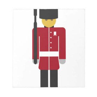 British Guard Notepad