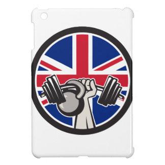 British Hand Lift Barbell Kettlebell Union Jack Fl Case For The iPad Mini
