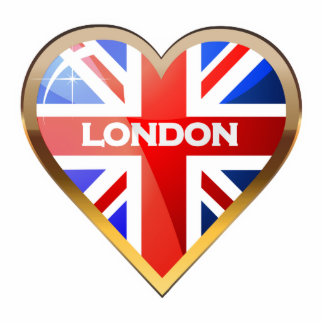 British Heart Photo Sculpture Magnet