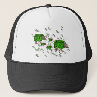 british hedge hogs trucker hat
