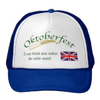 British Humour/Oktoberfest Cap