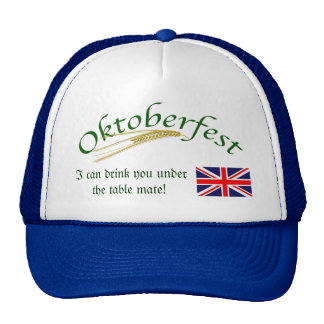 British Humour/Oktoberfest Hat
