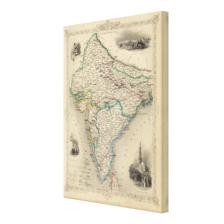 British India Canvas Prints