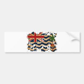 British Indian Ocean Territories Flag Bumper Sticker
