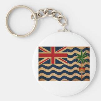 British Indian Ocean Territories Flag Keychain