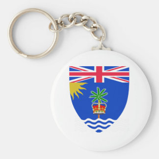 British Indian Ocean Territory Coat of Arms Key Chains