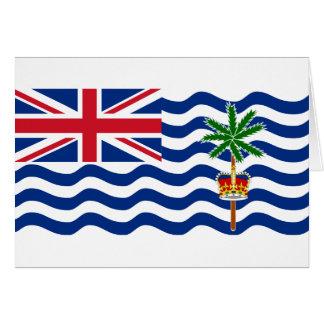 British Indian Ocean Territory Flag IO Cards