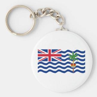 British Indian Ocean Territory Flag IO Key Chain