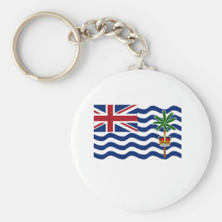 British Indian Ocean Territory Flag Key Chain