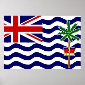 British Indian Ocean Territory Flag Posters