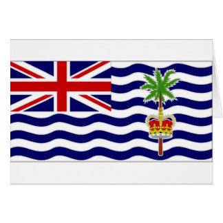 British Indian Ocean Territory National Flag Card