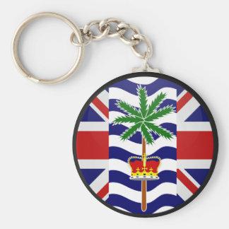 British Indian Ocean Territory quality Flag Circle Key Chains