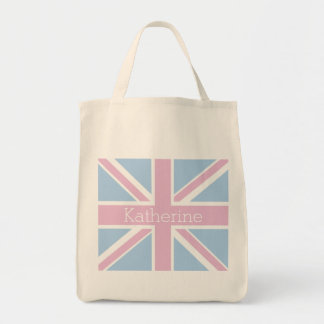 British Inspired Pink and Blue Union Jack