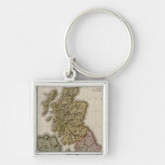 British Isles 7 Key Chains